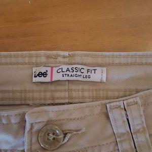 Lee Pants - Lee classic fit straight leg pants 10m